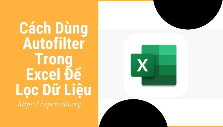 autofilter trong excel