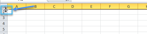 cach-an-hang-trong-excel